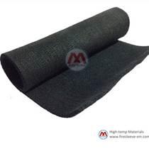 碳纤维护毯 耐高温黑色碳纤维隔热棉厂家 供应商 宁国