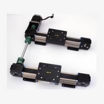 数控导轨配件丝杆模组十字,小行程同步带Z轴?滑台,高