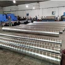 鍍鋅螺旋風管加工  白鐵皮風管彎頭價格