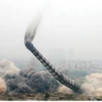 榆樹市燃煤鍋爐房煙筒裂縫拆除公司團結敬業