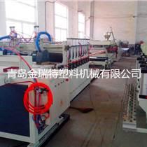 PVC木塑結皮建筑模板生產設備價格