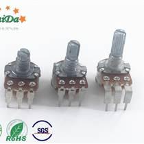 深圳廠家R1610NS五七彎腳的電位器調音碳膜電阻器