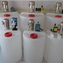 廠家直銷3000L環保水處理攪拌加藥箱攪拌罐溶藥桶