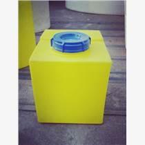 食品级进口PE7L方形加药箱,化工液体搅拌桶