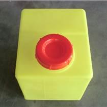 广东80L方形耐酸碱防腐蚀pe滚塑塑料加药箱/搅拌桶