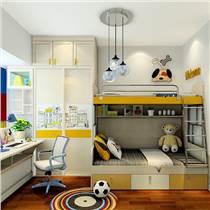 简单实用的男孩卧室家具 专业卧室家具定制 床 衣柜