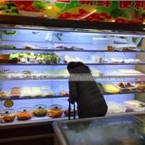深圳一般超市飲料風幕柜尺寸大小多少的