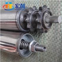 厂家直销动力积放式滚筒 不锈钢链轮积压滚筒 输送线减