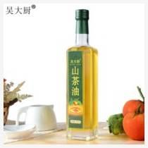 吳大廚原香山茶油500ml野生茶籽油孕婦寶寶食用油月