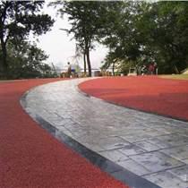 仿磚混凝土路面印壓 仿石壓花模地坪工藝簡潔使用年限長