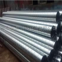 螺旋风管与圆形风管配件加工厂