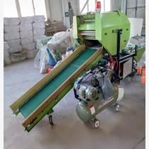 廠家批發青貯打捆機牧草打包機秸稈打捆包膜一體機