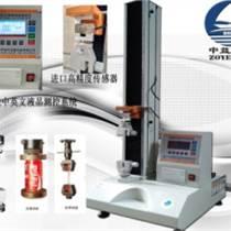 中益创天桌上型微机控制单柱拉力测试仪 胶带剥离强度试