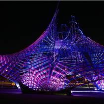 天津供應塑景不銹鋼鏤空雕塑 城市景觀燈光雕塑廠家訂做