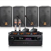 家庭音响套装 KTV音响功放话筒点歌机组合设备 音响