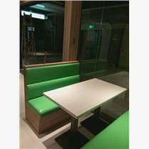 咖啡厅桌椅组合奶茶甜品店西餐厅餐桌人造大理石桌子复古