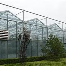 文絡型玻璃溫室大棚使用壽命長,透光性好