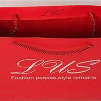 方形底手提纸袋 纸质手提带 特种纸礼品袋 广告纸袋