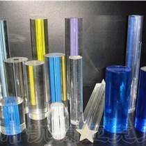 熱銷透明pmma亞克力棒材 彩色有機玻璃棒材 可定制