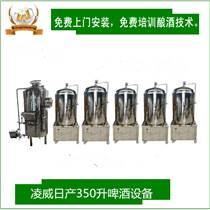 啤酒设备日产350升小型家庭自酿啤酒机精酿扎啤机