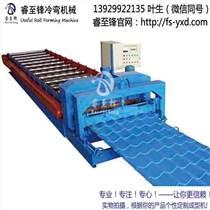 壓瓦機廠家,優質雙層壓瓦機設備,睿至鋒制造
