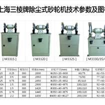 上海砂輪機廠三棱牌M3330除塵式砂輪機