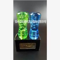 專業生產水晶排擋桿 亞克力彩色氣泡汽車排檔頭  可定