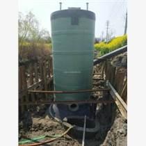 上饶雨水泵站造价玻璃钢筒体一体化预制泵站施工方案_图