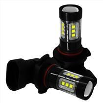 LED霧燈 汽車燈黑色外殼 80W H8/H10/H