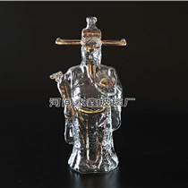 供應工藝酒瓶財神玻璃白酒瓶 紅酒瓶1000ml
