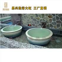 定做澡堂陶瓷泡澡缸 溫泉洗浴缸 陶瓷大缸廠家
