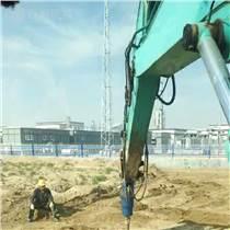 挖掘机上装螺旋钻BZ8000挖坑钻快速钻孔机