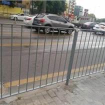 市政道路隔离护栏现货港式路测护栏鸿粤护栏厂家