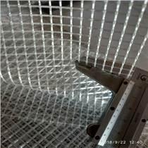 PVC阻燃防水防塵透明夾網布