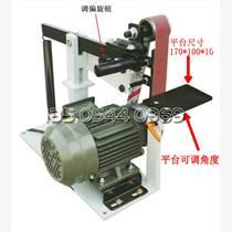 電動砂帶機 帶式多功能去毛刺打磨機 臺式小型磨刀砂帶
