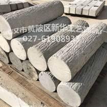供应优质环保仿木制品 仿木栏杆混凝土仿木树皮桩模具