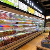 湖北商場訂做1.8米飲料展示柜