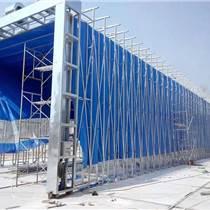 河南洛阳新型环保设备伸缩移动喷漆房