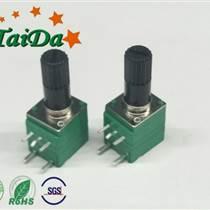 廠家直銷 R097單聯帶開關電位器器 擴音器調音量頭