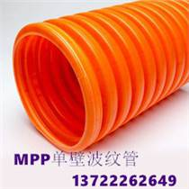 陕西咸阳160MPP单壁波纹管轩驰专业厂家生产