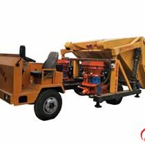 建特一拖二单斗丶工程型混凝土喷浆车新品直销