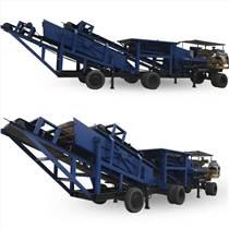供应移动式破碎站高效节能移动制沙机碎石机