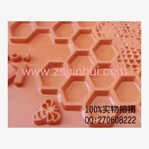 精细图文字烫金硅胶板