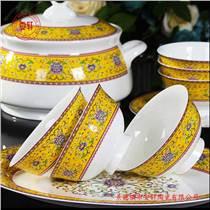 景德镇商务礼品骨质瓷餐具礼品套装
