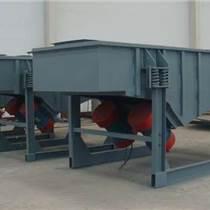 高效飼料直線振動篩分機 大產量飼料振動篩選機