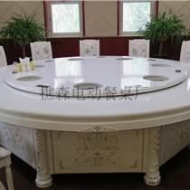 無線遙控餐桌 花壇聲控音樂噴泉電動桌 實木餐桌椅樵森
