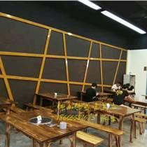 碳燒火鍋桌椅 炭化木餐臺 酒店實木家具