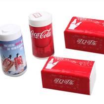 尚仕洁广告纸巾批发定制,免费设计包装