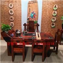 船木家具餐台餐椅7件套,厚墩餐椅配套餐台