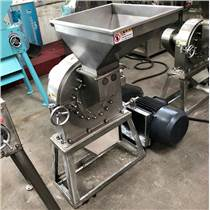 FS800大型不锈?#36136;?#22823;米粉碎机 工作视频